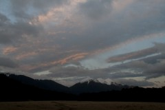 Dusk at Arthurs Pass