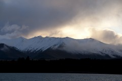 Sunrise at Lake Tekapo