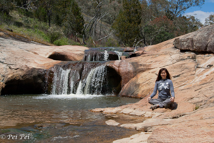 Small waterfall near Beechworth
